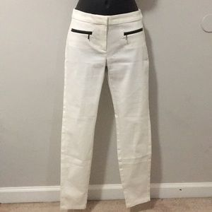 MANGO White Pants